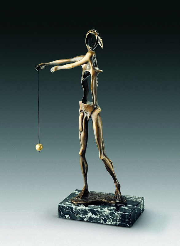Salvador Dalí, 'Homage To Newton', 1980, Sculpture, Bronze lost wax process, Dali Paris