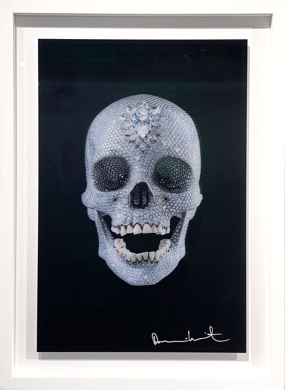 Damien Hirst, 'For the love of God 2012 Lenticular 850/5000 ', 2012, Print, Digital printing on PETG plastic, framed in a handmade frame with exclusive museum glass, AbrahamArt