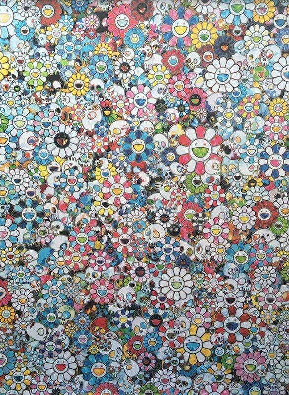 Takashi Murakami, 'This Merciless World', 2016, Print, Offset lithograph in colors on smooth wove paper, Lougher Contemporary