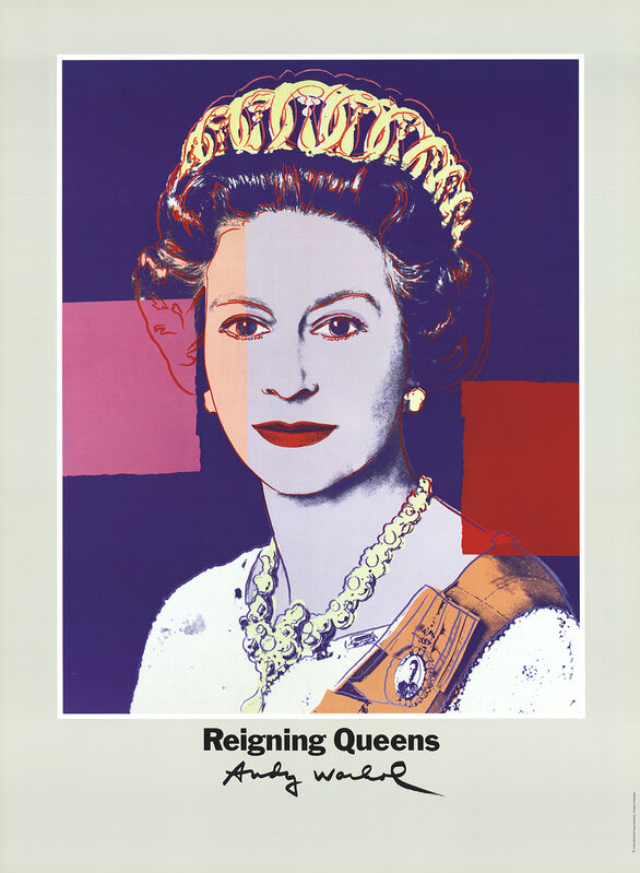 Andy Warhol, 'Queen Elizabeth II of England from Reigning Queens', 1986, Ephemera or Merchandise, Offset Lithograph, ArtWise