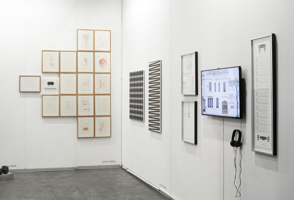 Hache Gallery at arteBA 2018, installation view