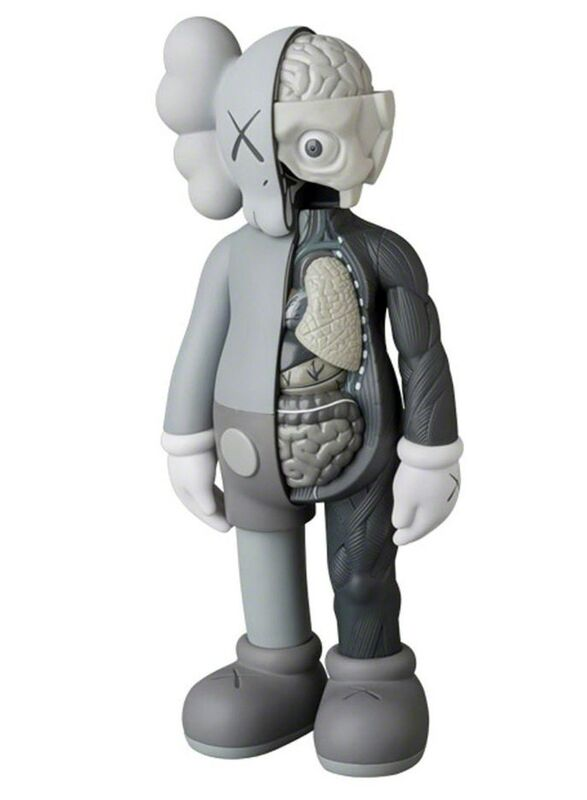 KAWS, 'KAWS Grey Flayed Companion 2016 ', 2016, Sculpture, Cast Resin, Vinyl Paint, Lot 180