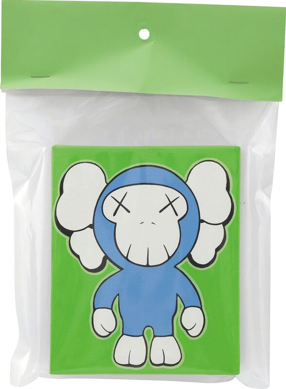 KAWS, 'UNTITLED', 2002, Painting, Acrylic on canvas with plastic packaging, Phillips
