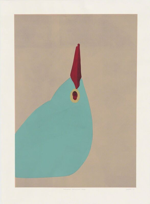 Gary Hume, 'Paradise Four', 2012, Print, Linocut, Betsy Senior Fine Art