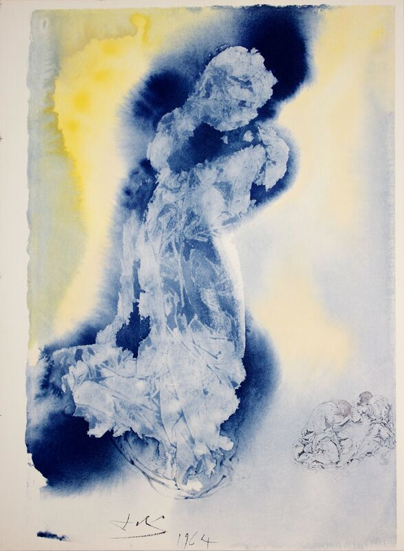 Salvador Dalí, 'The Spirit is Willing, But the Flesh is Weak', 1964-1967, Print, Original Colored Lithograph and Serigraph on Heavy Rag Paper, Studio Mariani Gallery