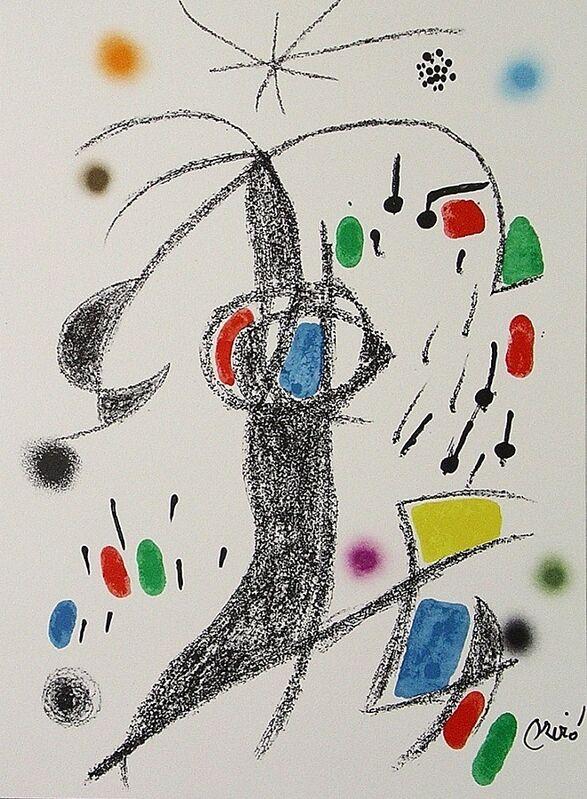 Joan Miró, 'Maravillas con variaciones acrósticas en el jardín de Miró XIX', 1975, Print, Lithograph on Gvarro paper, ARTETRAMA