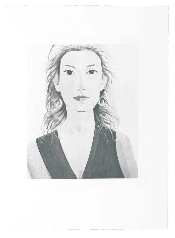 Alex Katz, 'Six female portraits', 2004, Print, Complete set of six Heliogravures, Emanuel von Baeyer