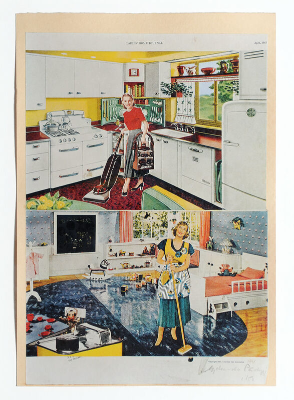 Eduardo Paolozzi, 'It's a Psychological Fact Pleasure Helps Your Disposition', 1972, Print, Lithograph, Goldmark Gallery