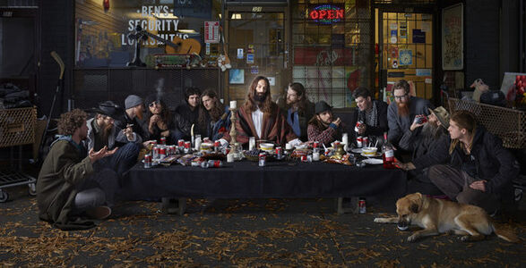 Dina Goldstein, 'Last Supper, East Vancouver', 2014