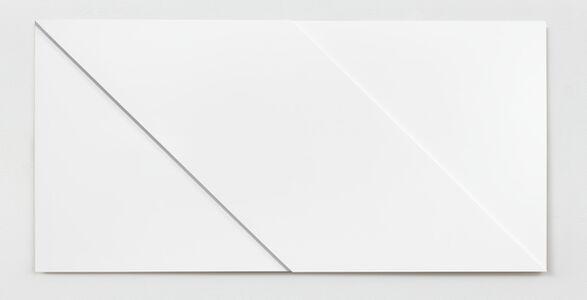 Ad Dekkers, 'Dubbel vierkant met diagonalen / Double square with diagonals', 1968
