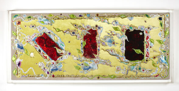 Thomas Lanigan-Schmidt, 'Cool Spring Leaves & Hot Summer Roses', 1989-1990