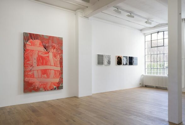 """Spezifikation #25: Hilli Hassemer """"Baby, You Can Sleep While I Drive"""", installation view"""