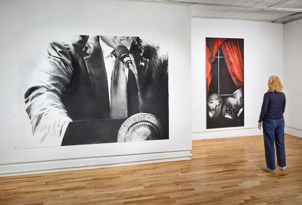 Melanie Baker: The Optimates, installation view
