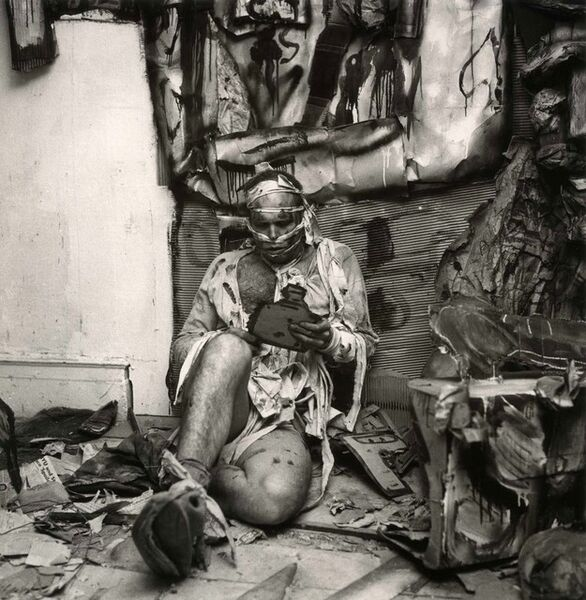 """Martha Holmes, 'Claus Oldenburg, """"Snapshots from the City,"""" Judson House Gallery', 1960"""