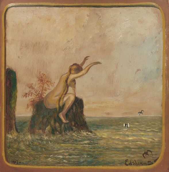 Louis Michel Eilshemius, 'Untitled (Love Bather)', 1917
