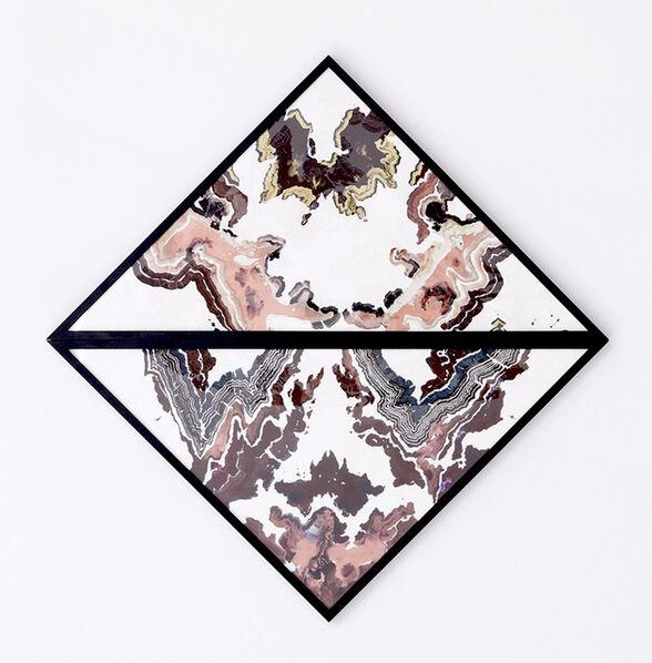 Abdelkader Benchamma, 'Untitled (diptych marble)', 2019