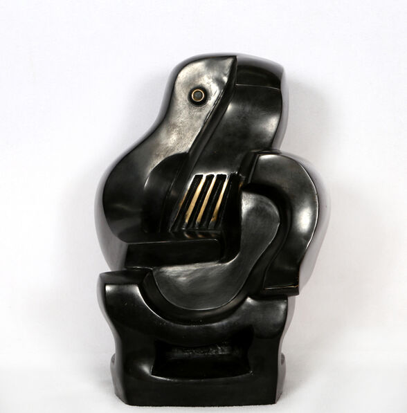 Jacques Lipchitz, 'Guitar Player in Chair'