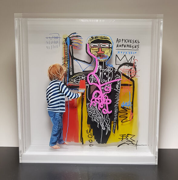 Yosman Botero, 'Common things 176 :Basquiat.', 2018