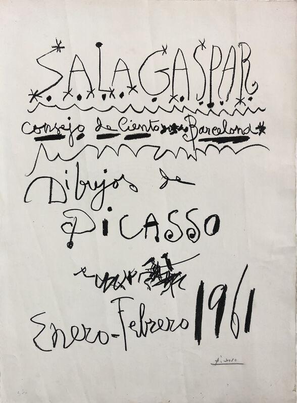 Pablo Picasso, 'Dibujos de Picasso', 1961, Print, Lithograph on Rives paper, OBA/ART