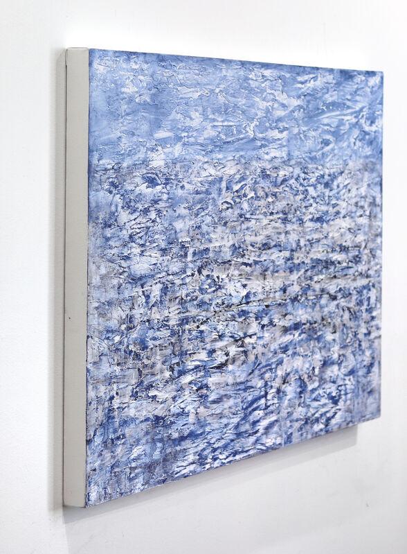 Clara Berta, 'Champagne Beach', 2020, Painting, Mixed Media on Canvas, Artspace Warehouse