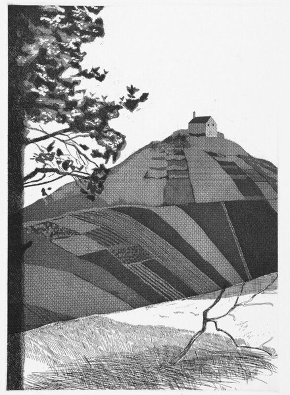 David Hockney, ' A Wooded Landscape (Fundevogel)', 1969, Print, Etching & Aquatint, Mr & Mrs Clark's