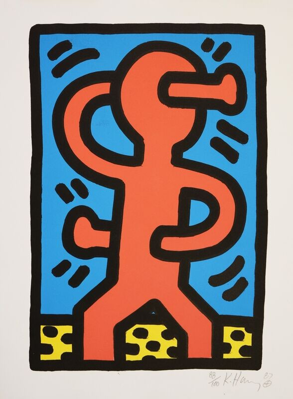 Keith Haring, 'Untitled (See. Littmann P. 74)', 1987, Print, Screenprint in colours, Forum Auctions