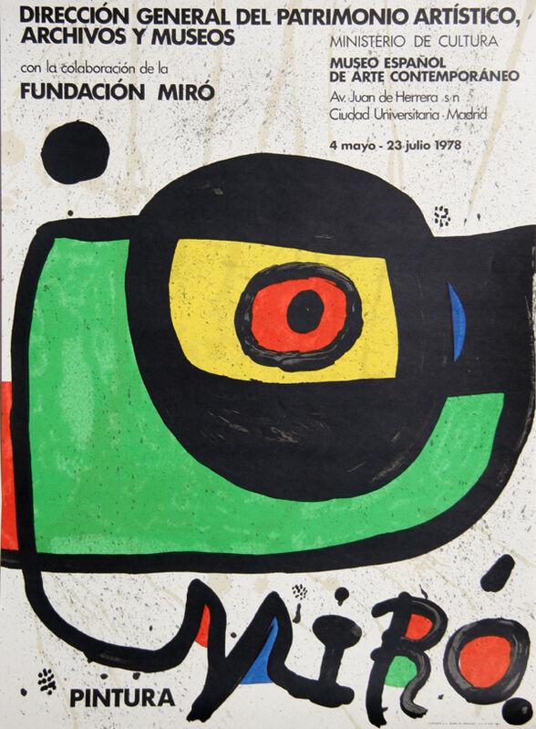 Joan Miró, 'Museo Espanol de Arte Contemporaneo', 1978, Print, Poster, RoGallery