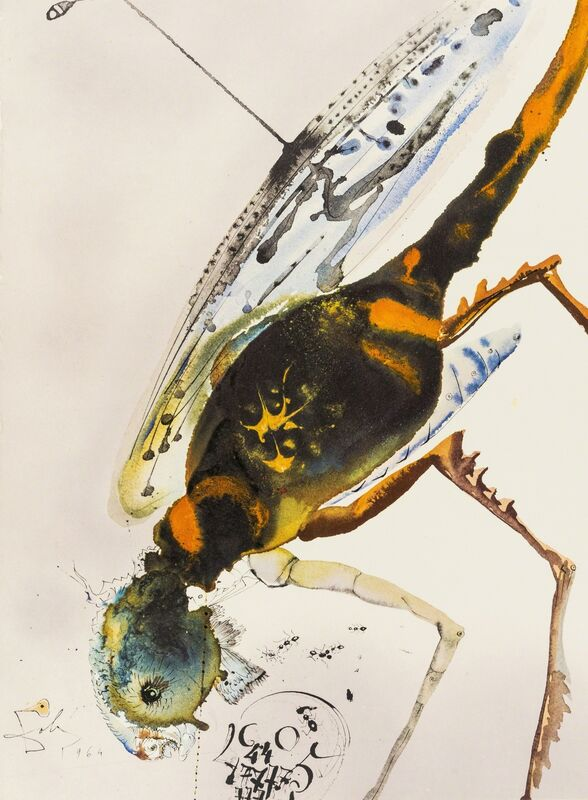 Salvador Dalí, 'Biblia Sacra (Field 69.3; M & L 1600)', 1967, Books and Portfolios, The complete set of five volumes, comprising 105 lithographs printed in colours, Forum Auctions
