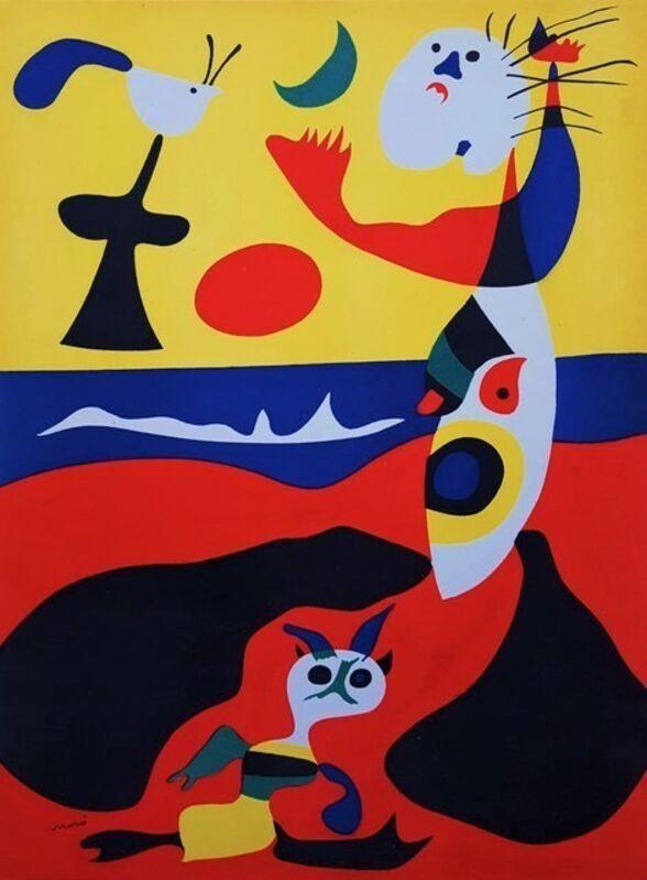 Joan Miró, 'L'été (Summer)', 1938, Print, Original lithograph on wove paper, Samhart Gallery