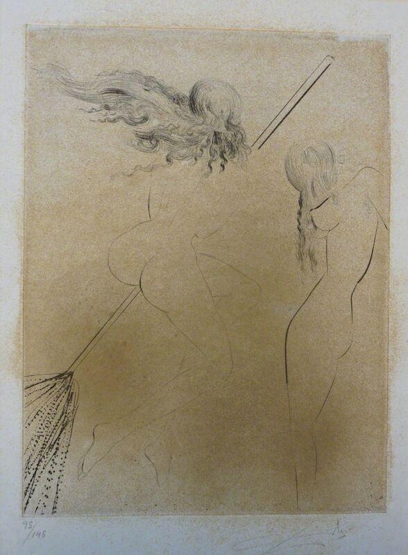 Salvador Dalí, 'Faust Sorcieres au Balai', 1969, Print, Etching, Fine Art Acquisitions Dali