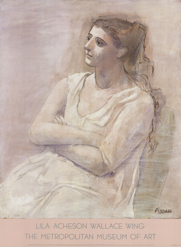 Pablo Picasso, 'Woman in White', 1987, Ephemera or Merchandise, Offset Lithograph, ArtWise