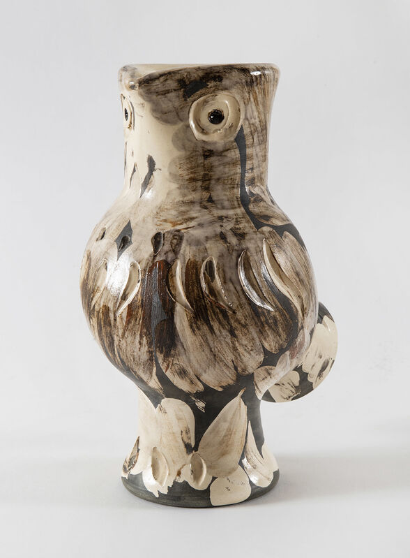 Pablo Picasso, 'Chouette (A.R.607)', 1969, Design/Decorative Art, Painted and partially glazed ceramic, HELENE BAILLY GALLERY