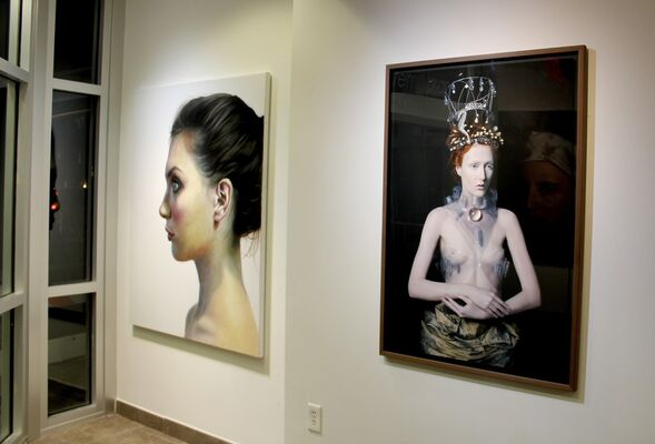 Realism, Surrealism and Representation, installation view