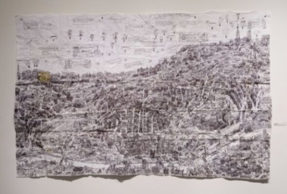 Zinzinnati Ohio USA: The Maps of Courttney Cooper, installation view