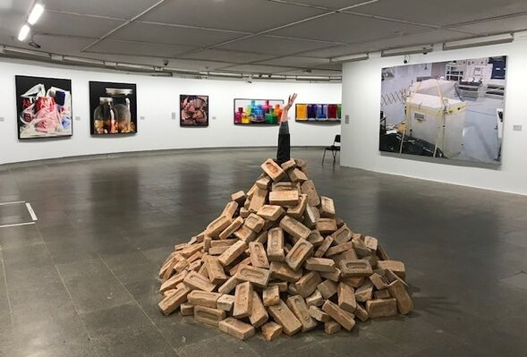 50 Years of Realism - Photorealism to Virtual Reality at the Centro Cultural Banco do Brasil, Brasilia, installation view