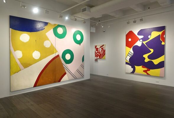 Knox Martin: Radical Structures, installation view