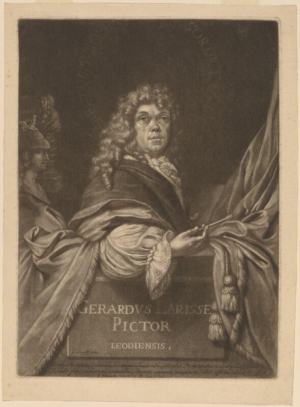 Pieter Schenck I after Gerard de Lairesse, 'Gerard de Lairesse', Print, Mezzotint on laid paper, National Gallery of Art, Washington, D.C.