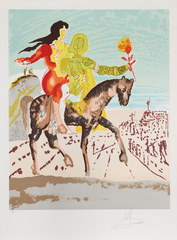 Salvador Dalí, 'The Messiah', 1980, Print, Lithograph on Arches, RoGallery Gallery Auction