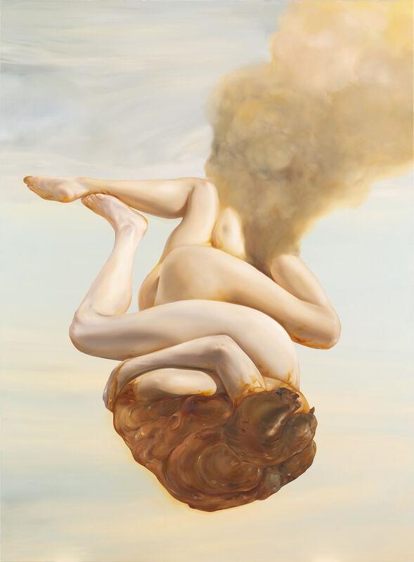 "Oda Jaune, '""Z""', 2019, Painting, Huile sur toile / Oil on canvas, Templon"