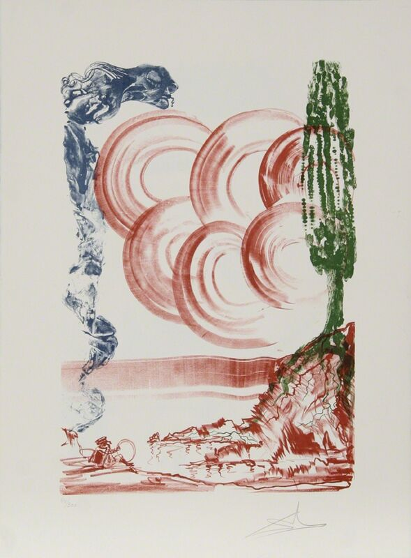 Salvador Dalí, 'Atomo from the Colibri Suite', 1973, Print, Lithograph, RoGallery