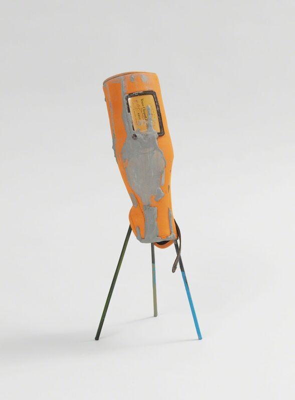 Christoph Meier, 'Untitled (Joanna II)', 2013, Sculpture, Steel, plastic, concrete, lacquer, Galerie Kamm