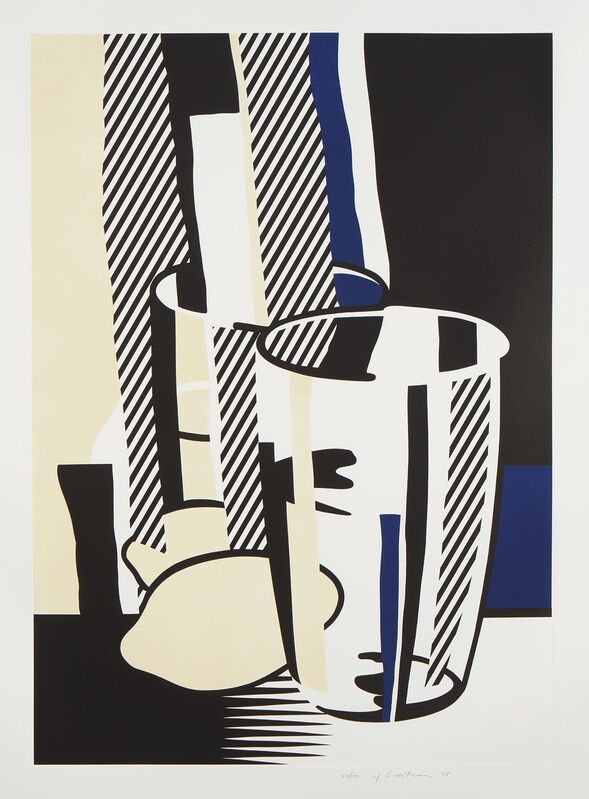 Roy Lichtenstein, 'Before the Mirror, from Mirrors of the Mind portfolio', 1975, Print, Lithograph and screenprint in colors with embossing, on Rives BFK paper, with full margins., Phillips