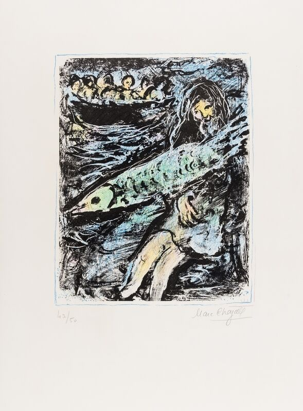 Marc Chagall, 'Jonah II (Mourlot 660)', 1972, Print, Lithograph printed in colours, Forum Auctions