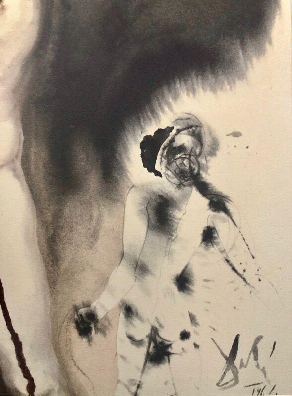 Salvador Dalí, 'David and The Philistine, 'David Et Philistaeus', Biblia Sacra', 1967, Print, Original Lithograph, Inviere Gallery