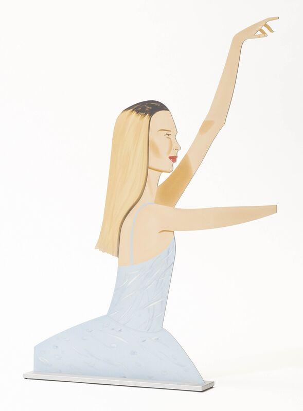 Alex Katz, 'Dancer 2 (Cutout)', 2020, Sculpture, Cutted aluminium, printed on both sides, Koller Auctions
