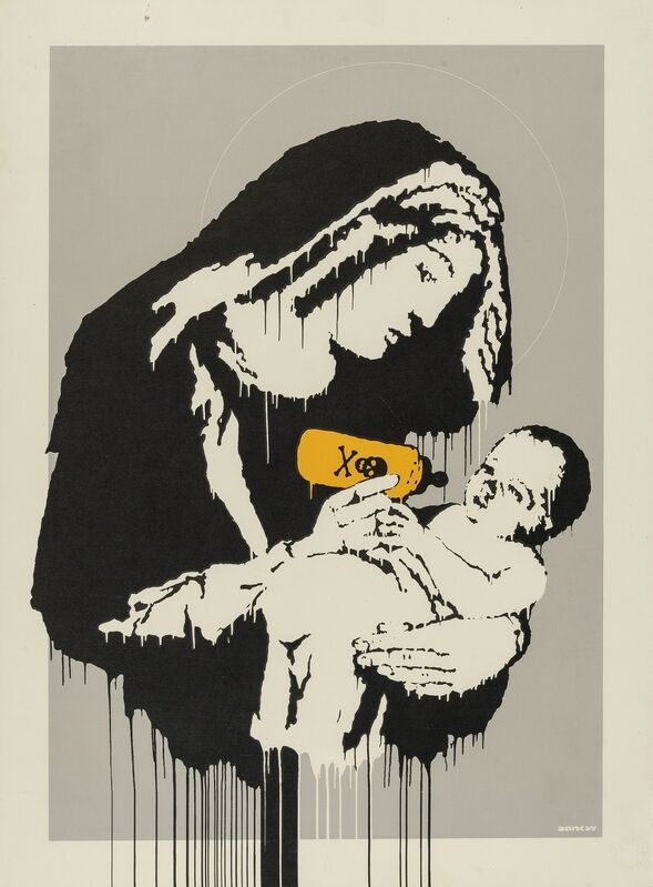 Banksy, 'Toxic Mary', 2003, Print, Seenprint in colours, Forum Auctions