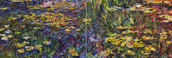 Vik Muniz, 'Nympheas, after Claude Monet (Pictures of Magazines 2)', 2013