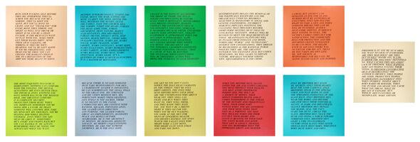 Jenny Holzer, '11 Inflammatory Essays', 1979-1982