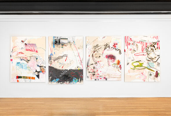 Logical Elasticity, installation view