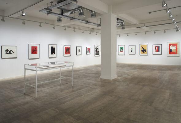 Robert Motherwell: A Survey of Prints, installation view